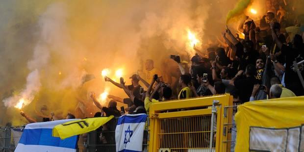 """Après le comportement violent de ses """"supporters"""" à Charleroi, le propriétaire du Beitar Jérusalem va revendre le club -..."""