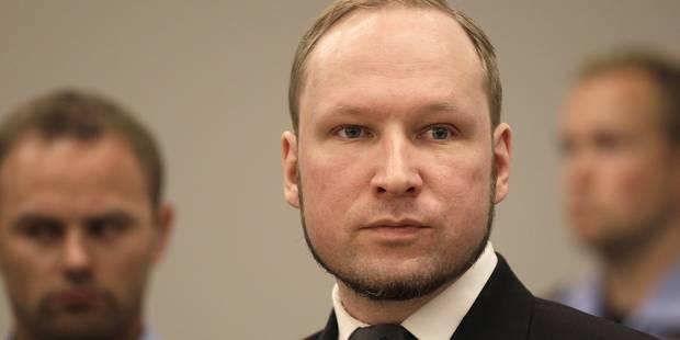 Breivik pourra suivre un cursus universitaire depuis sa prison - La Libre