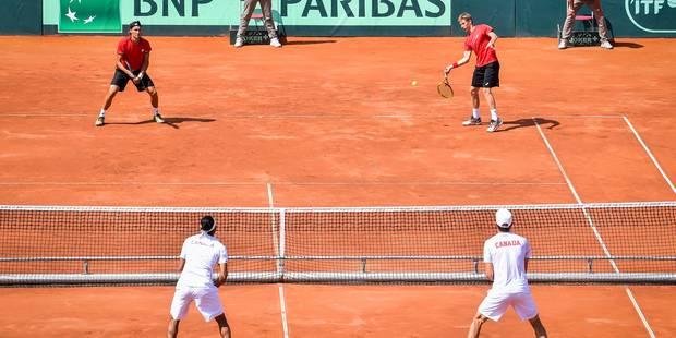 La Belgique se qualifie pour les demi-finales de la Coupe Davis - La Libre