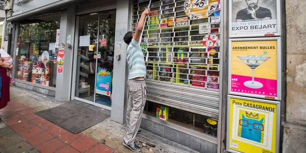 Piétonnier : Bruxelles fait poser des scellés sur quatre magasins de nuit - La Libre