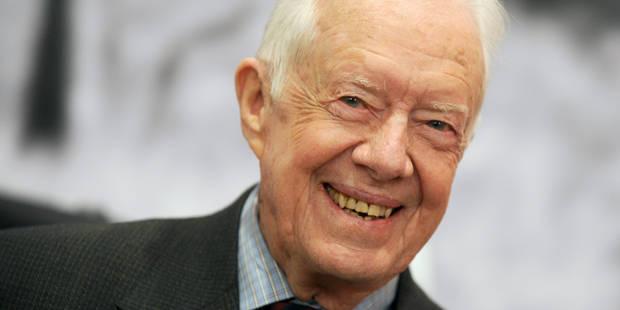 Le cancer de l'ancien président américain Jimmy Carter s'est propagé - La Libre