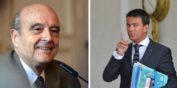 Présidentielle en France: Juppé favori de la droite, Valls de la gauche - La Libre