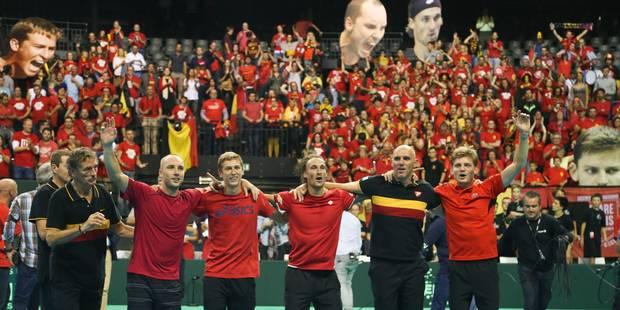 La finale de la Coupe Davis devrait avoir lieu à Gand - La Libre