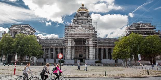Alerte à la bombe levée au palais Montesquieu à Bruxelles - La Libre
