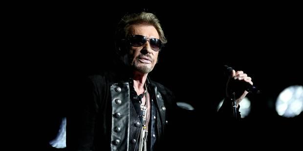 La setlist du concert de Johnny Hallyday à Lille - La Libre