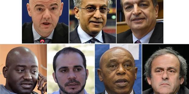 Présidence de la FIFA: ils ne sont plus que 7... - La Libre
