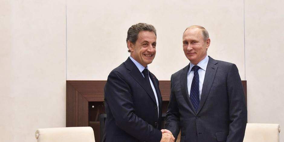 Nicolas Sarkozy, un président qui revient du froid - La Libre