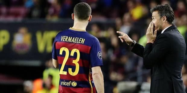 """Vermaelen : """"J'ai été surpris que Barcelone me veuille"""" - La Libre"""