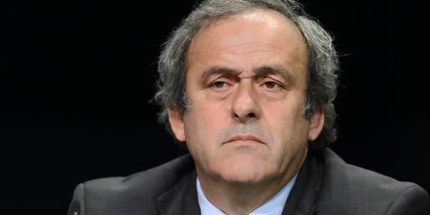 Présidence de la FIFA: Platini ne figure pas (encore) parmi les candidats retenus - La Libre