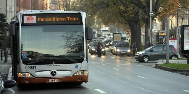 Menace terroriste: pas de prime pour les chauffeurs de la Stib et des Tec qui roulent à Bruxelles - La Libre
