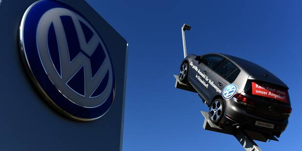 Tricherie antipollution: Volkswagen va subir le premier recul de ses ventes depuis plus de 10 ans - La Libre