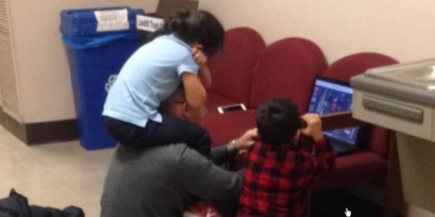 Le beau geste de ce professeur envers une maman étudiante - La Libre