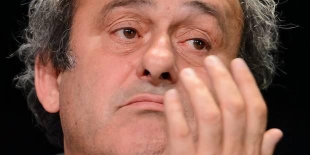Platini n'est plus candidat à la présidence de la FIFA - La Libre