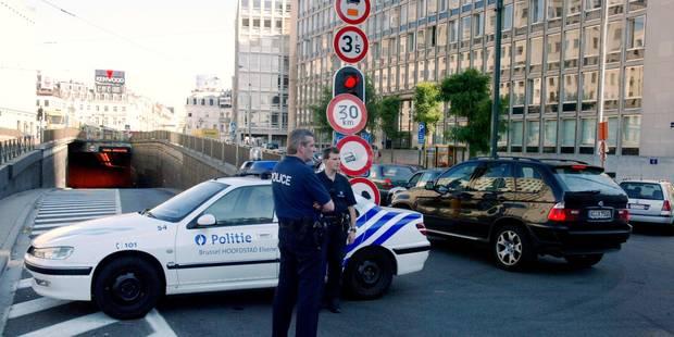 Bruxelles: le tunnel Stéphanie fermé plusieurs jours en raison de fissures - La Libre