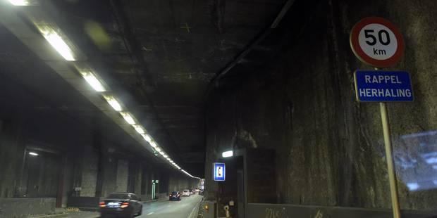 Bruxelles: un accident dans le tunnel Léopold II provoque des embarras de circulation - La Libre