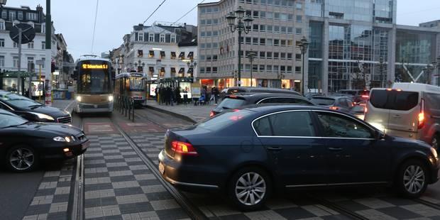Tunnels bruxellois : la place Louise fermée en direction de Midi dès ce mardi - La Libre