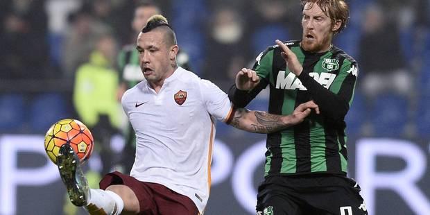 Radja Nainggolan élu joueur du mois à la Roma - La Libre
