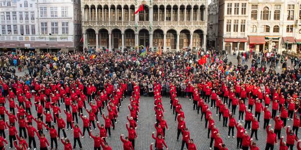 Bruxelles fête le Nouvel An chinois pour la première fois (photos) - La Libre