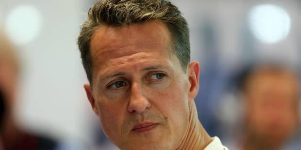 """""""Il faut continuer à soutenir Michael Schumacher"""" - La Libre"""
