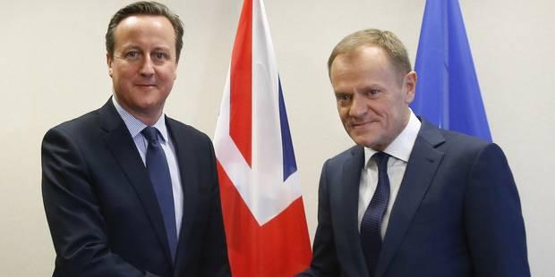 Cameron annonce que l'accord donne au Royaume-Uni un statut spécial au sein de l'UE - La Libre