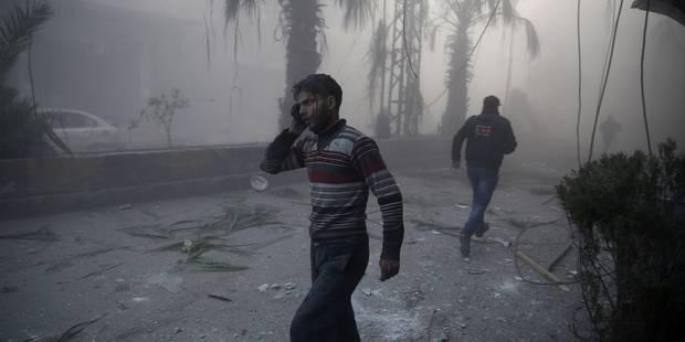 Syrie: rejet d'une résolution russe à l'ONU, discussions sur un cessez-le-feu - La Libre