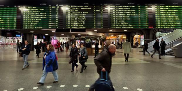 Trafic ferroviaire perturbé entre Bruxelles-Nord et Bruxelles-Midi - La Libre