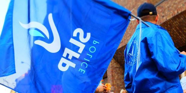 Les syndicats policiers déposent un préavis de grève contre le plan Medusa - La Libre