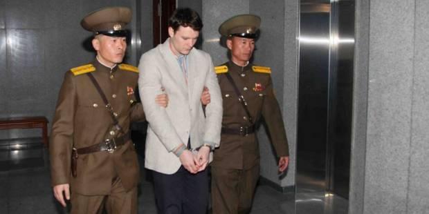 Un étudiant américain condamné à 15 ans de travaux forcés en Corée du Nord - La Libre