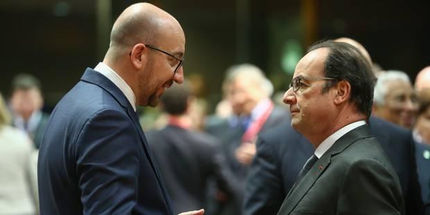Charles Michel quitte le sommet européen en raison des événements à Molenbeek - La Libre