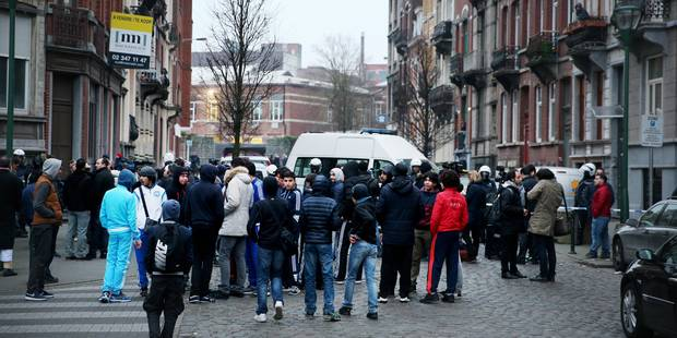 La tension est montée dans le quartier où Salah Abdeslam a été arrêté - La Libre