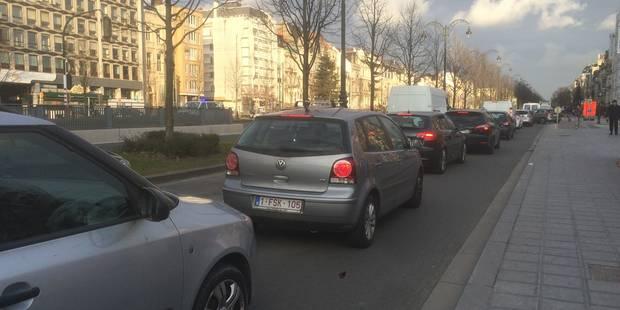 Embarras de circulation pour sortir de Bruxelles - La Libre