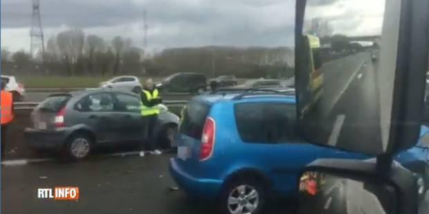 Trois accidents sur le ring intérieur de Bruxelles font plusieurs blessés (VIDEO) - La Libre