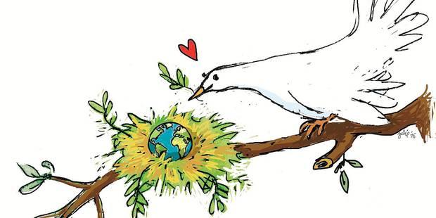 Un monde en paix. Une utopie réaliste ? - La Libre