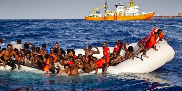 Selon 40 rescapés, près de 500 migrants seraient morts noyés en mer suite à un naufrage - La Libre