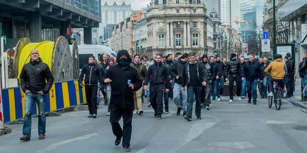 Hooligans à la bourse: l'ordre public relève de la responsabilité locale - La Libre