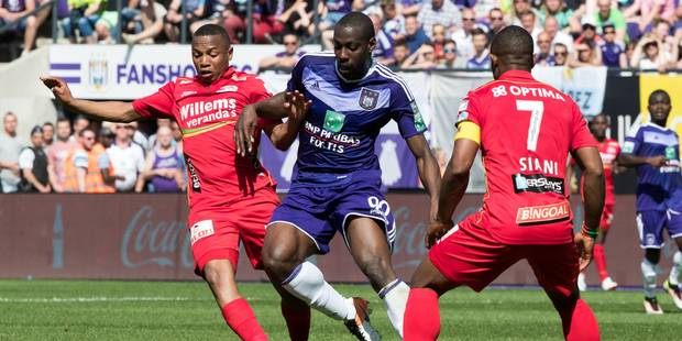 Anderlecht peut toujours croire au titre grâce à Okaka (2-1) - La Libre