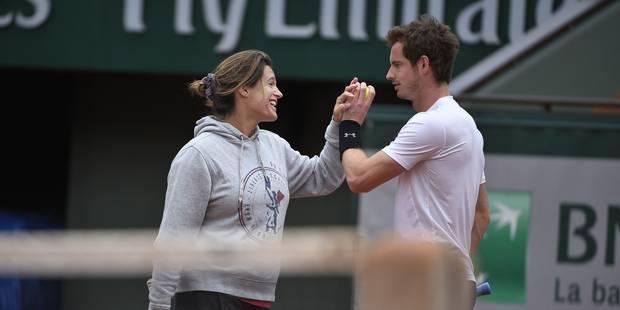 Fin de la collaboration entre Andy Murray et Amélie Mauresmo - La Libre