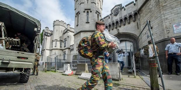 Grève dans les prisons: Les militaires n'ont pas le droit de refuser leur mission - La Libre