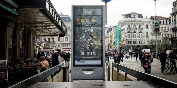 Toutes les entrées et sorties du métro bruxellois à nouveau ouvertes dès ce samedi - La Libre