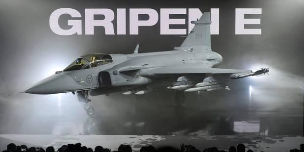 Le Suédois Saab dévoile son chasseur Gripen E, candidat à la succession des F-16 - La Libre