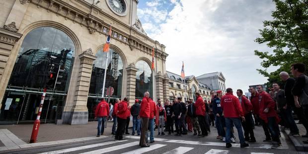 La SNCB en grève au moins jusqu'à mardi, les syndicats doivent consulter leurs bases - La Libre