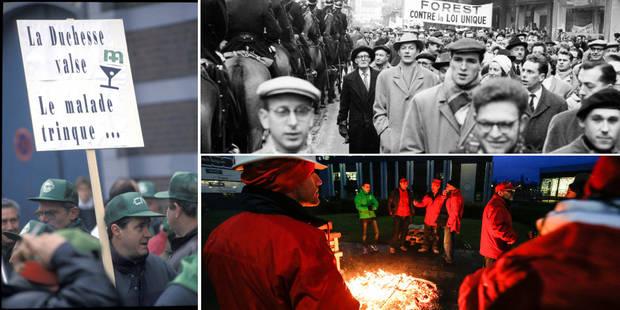 Ces grèves qui ont failli faire chuter le gouvernement - La Libre