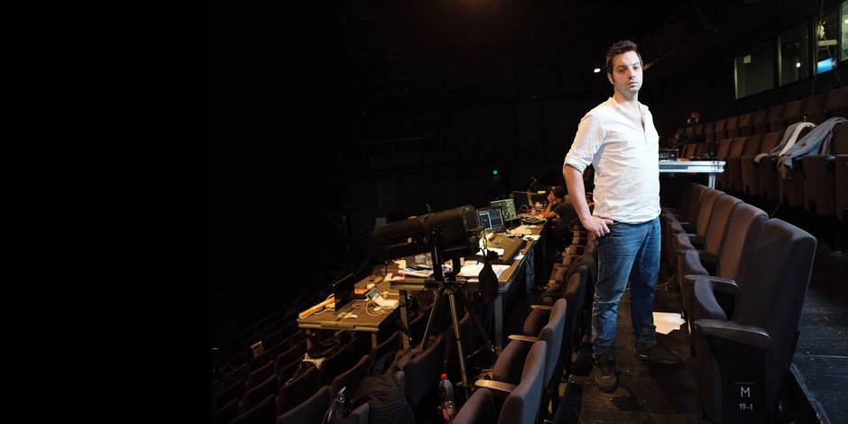 Fabrice Murgia, une jeunesse d'avance - La Libre