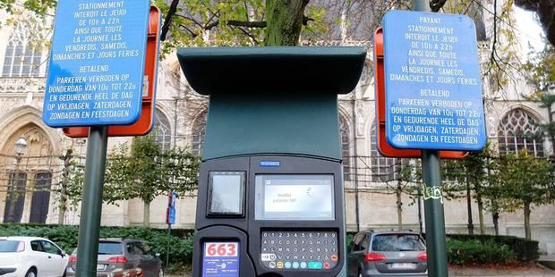 Stationnement à Bruxelles: L'ensemble du Pentagone devient payant - La Libre