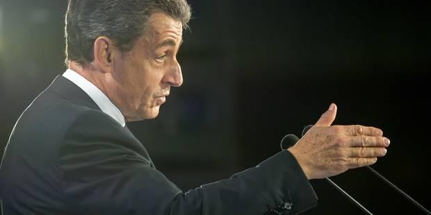 Sarkozy, le vrai-faux candidat déjà en campagne - La Libre
