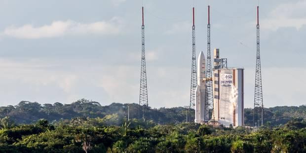 Ariane 5 décolle avec deux satellites de télécommunications - La Libre