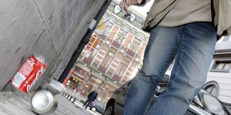 100€ pour un mégot ou un chewing-gum, 150€ pour des cartons: les chiffres des incivilités en Wallonie - La Libre
