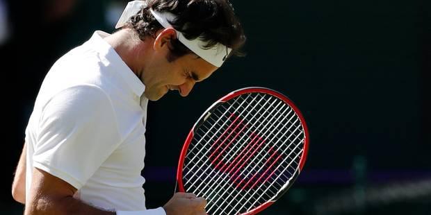 Wimbledon: Federer sauve 3 balles de match et se qualifie pour les demis - La Libre