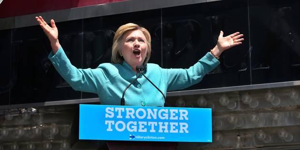 Hillary Clinton dénonce en Trump un homme d'affaires sans scrupules - La Libre
