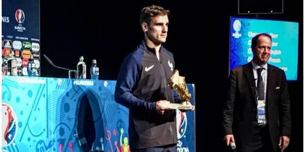 Euro 2016: Griezmann élu meilleur joueur de la compétition, Hazard meilleur passeur - La Libre